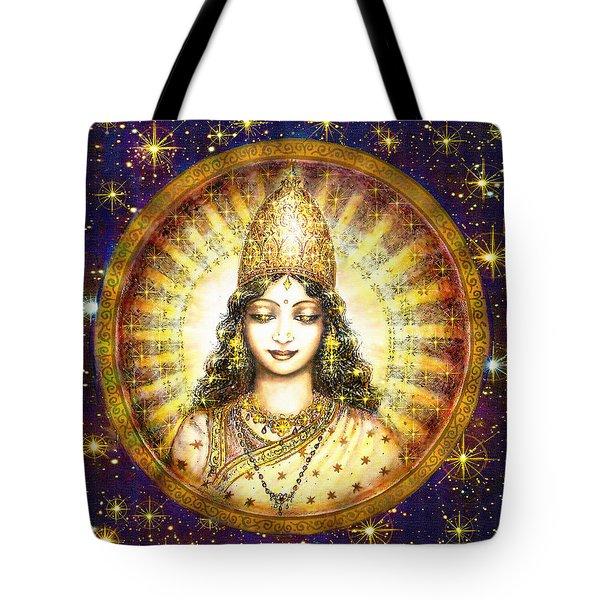 Goddess Of Stars Tote Bag