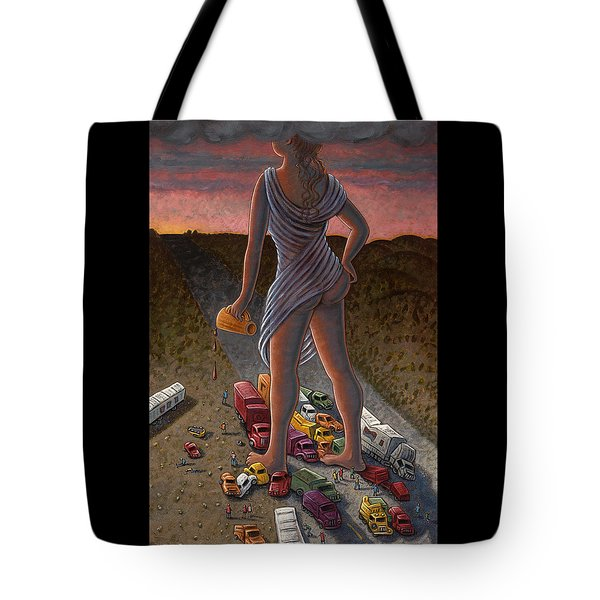 Goddess Of The Dawn Tote Bag