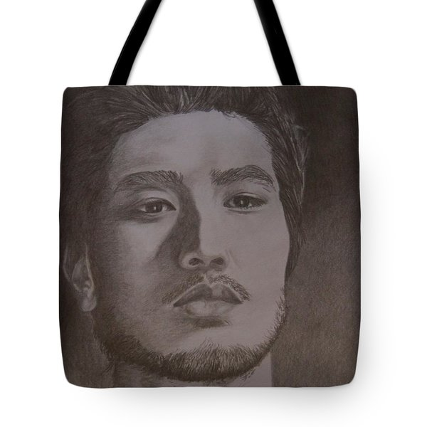Godfrey Gao Tote Bag by Lorelle Gromus