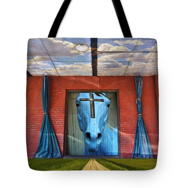 Tote Bag featuring the photograph Godhead by Skip Hunt