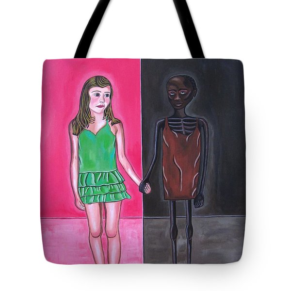 Gods Children Tote Bag by Sandra Marie Adams