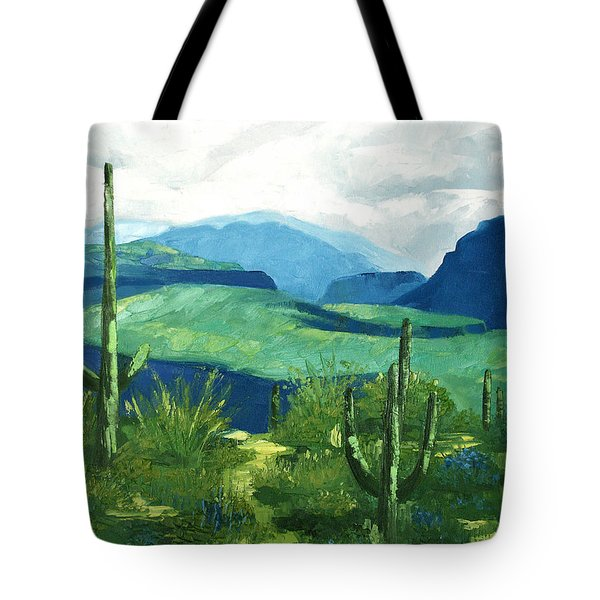 Gods Country Tote Bag by Anthony Falbo