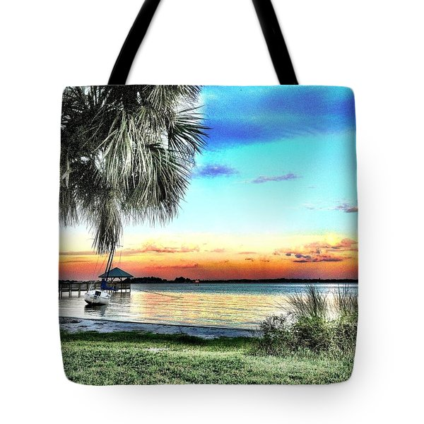 God's Country Iv Tote Bag by Carlos Avila