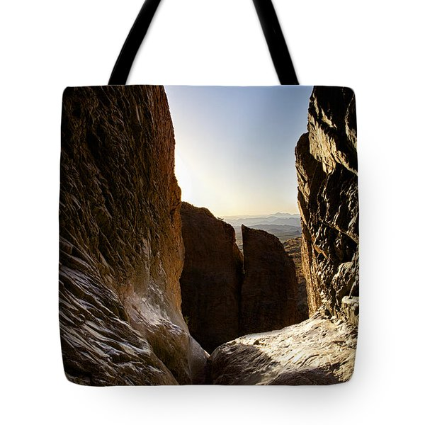 God's Eye View Tote Bag by Erika Weber