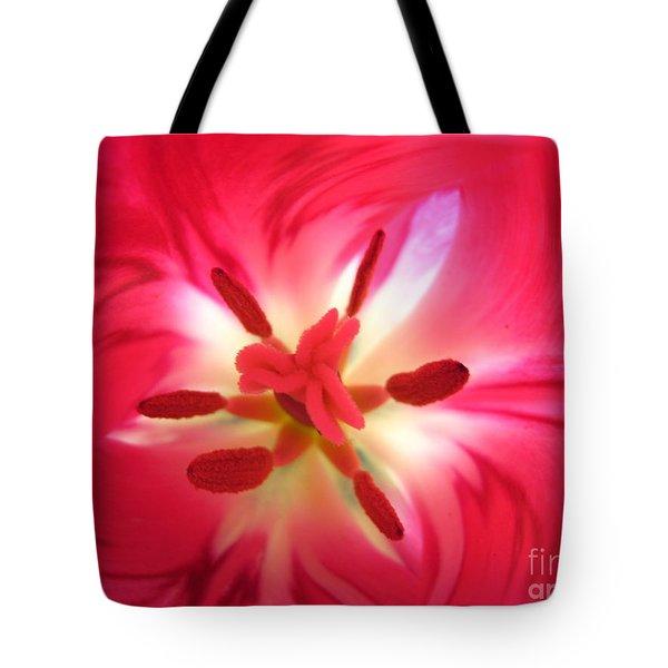 God's Floral Canvas 1 Tote Bag