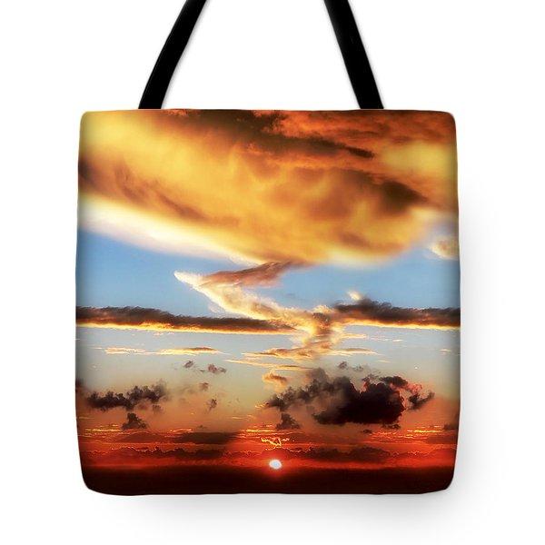 God's Heaven Tote Bag