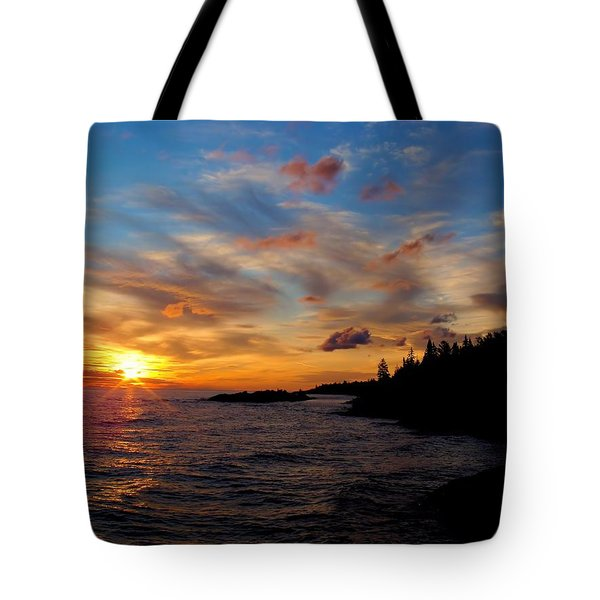 God's Morning Painting Tote Bag