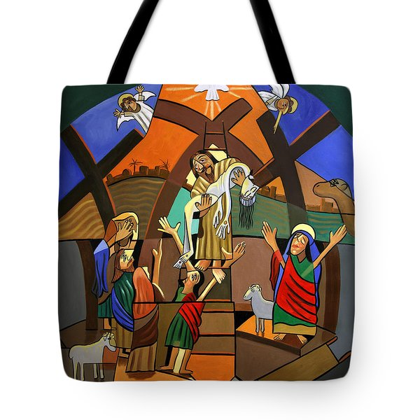 Gods Only Son Tote Bag by Anthony Falbo