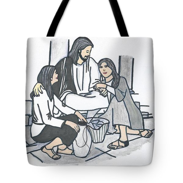 Tote Bag featuring the painting God's Promise  by Magdalena Frohnsdorff
