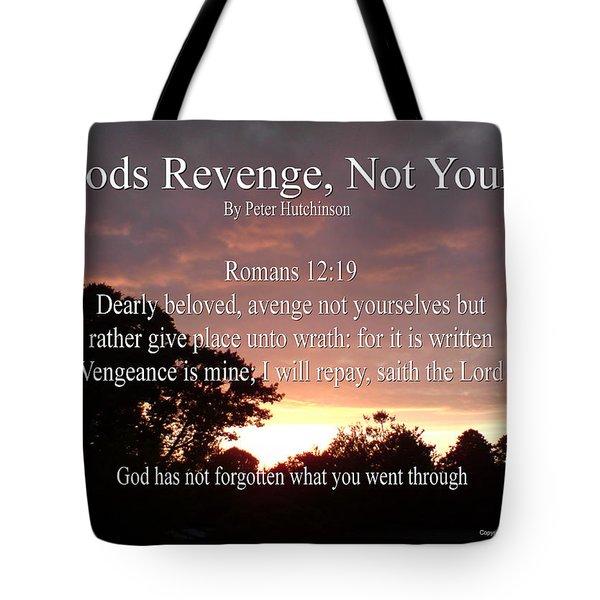 Gods Revenge Tote Bag