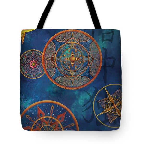 Gods Shelter Tote Bag