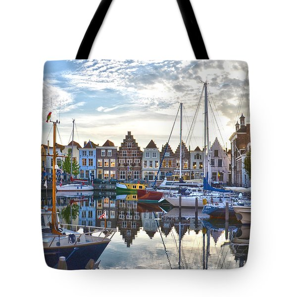 Goes Harbour Tote Bag by Frans Blok