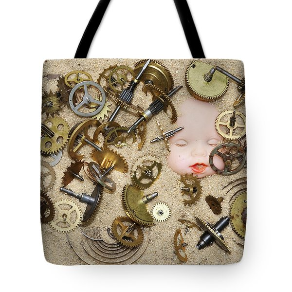 Gof Of Time Tote Bag by Michal Boubin