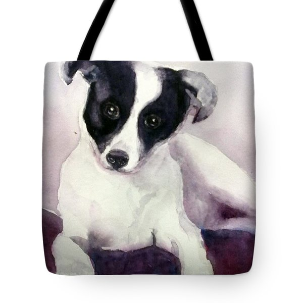 Goggles The Stray Dog Tote Bag