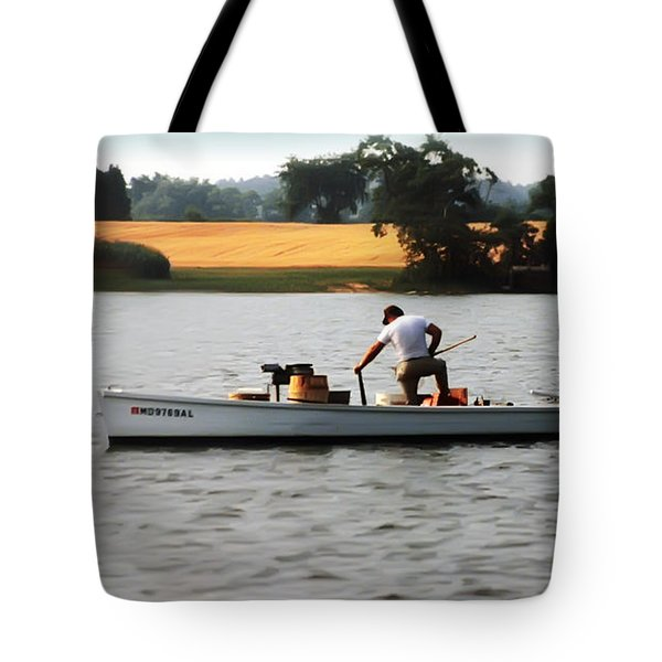 Go'in Down The Line Tote Bag