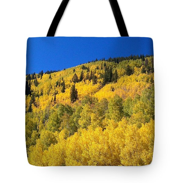 Tote Bag featuring the photograph Going Gold by Fortunate Findings Shirley Dickerson