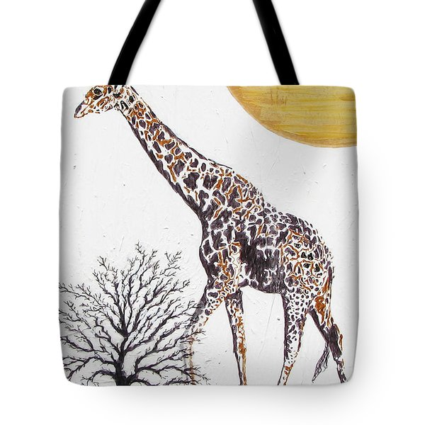 Tote Bag featuring the painting Going Solo by Stephanie Grant