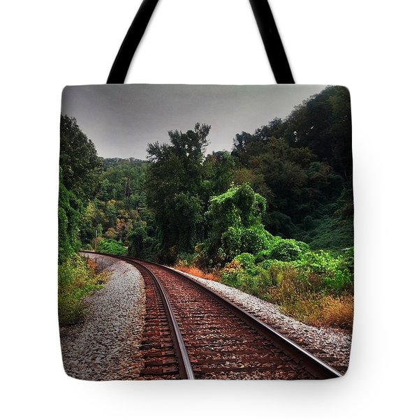 Going Somewhere Tote Bag by Janice Spivey