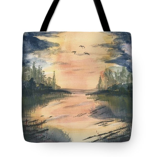 Going South  Tote Bag