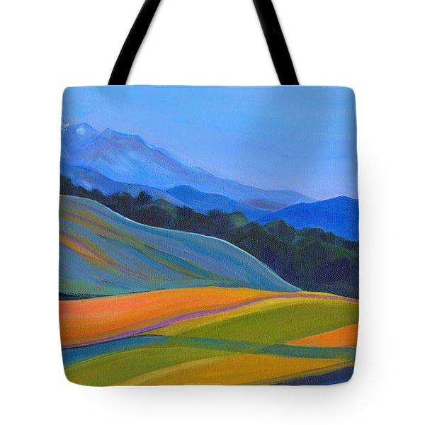 Going To California Tote Bag