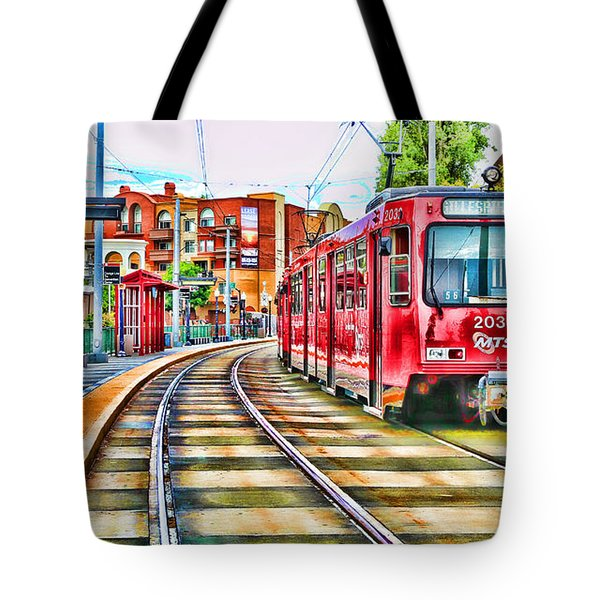 Going To Gillespie Field By Diana Sainz Tote Bag