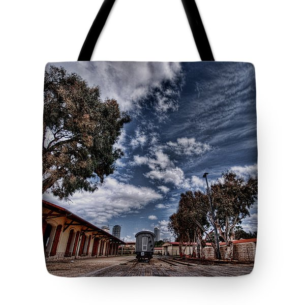 Tote Bag featuring the photograph Going To Jerusalem by Ron Shoshani