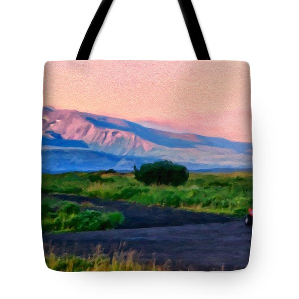 Going To School Cold Bay Style Tote Bag
