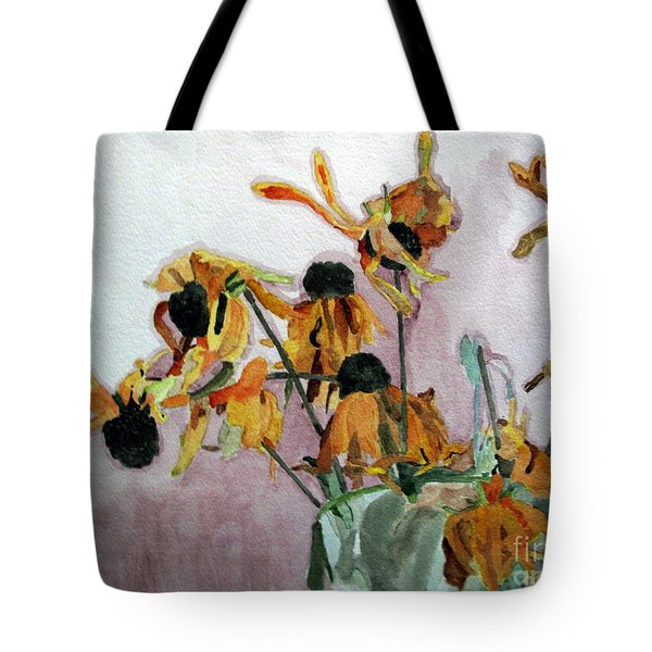 Going To Seed Tote Bag by Sandy McIntire