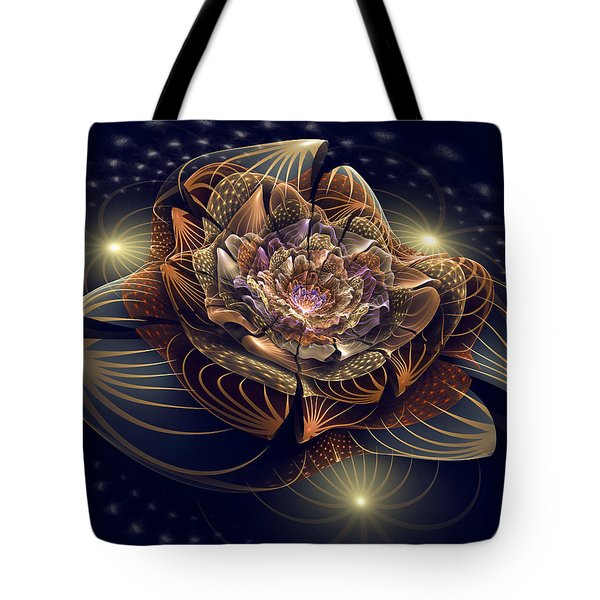 Going To The Light Tote Bag by Kim Redd