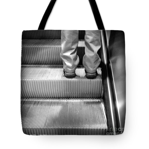 Going Up Tote Bag by James Aiken