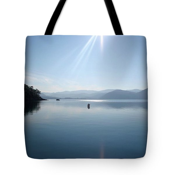 Tote Bag featuring the photograph Gokova Bay  by Tracey Harrington-Simpson