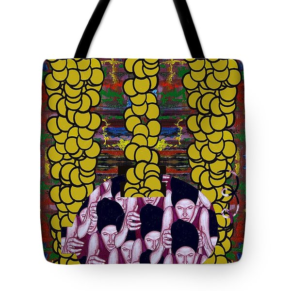 Gold 1 Tote Bag by Patrick J Murphy