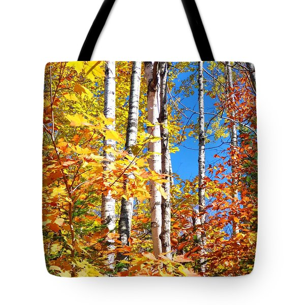 Gold Autumn Tote Bag