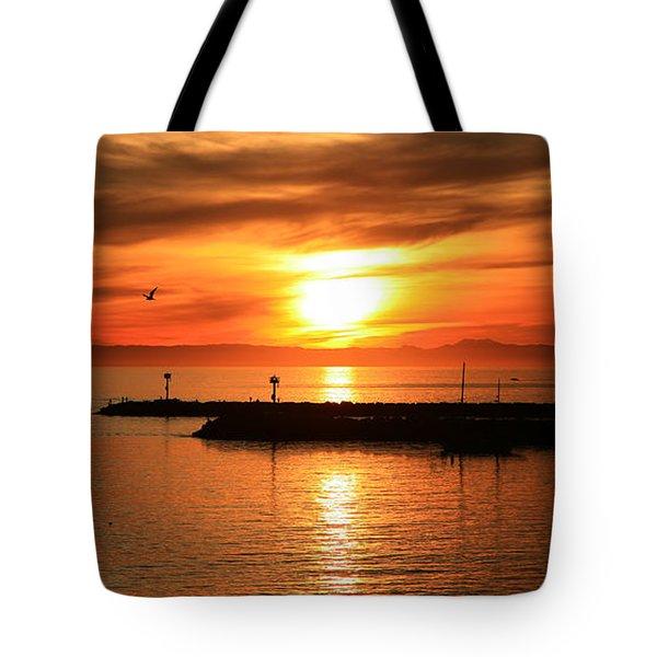 Gold Corona  Tote Bag