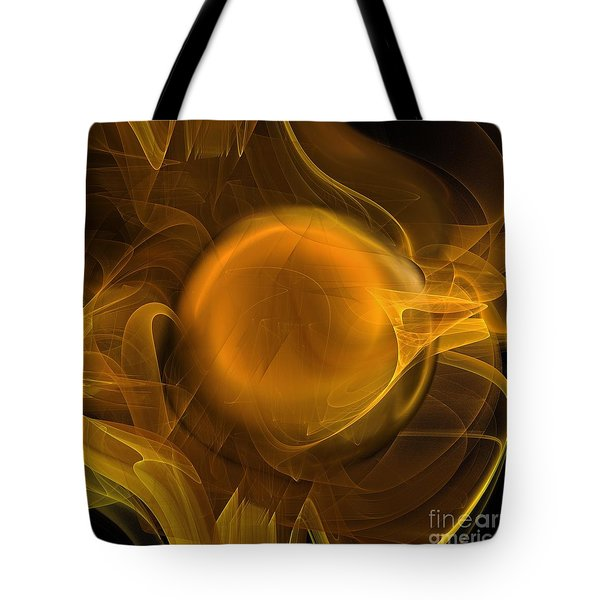 Gold Tote Bag by Elizabeth McTaggart