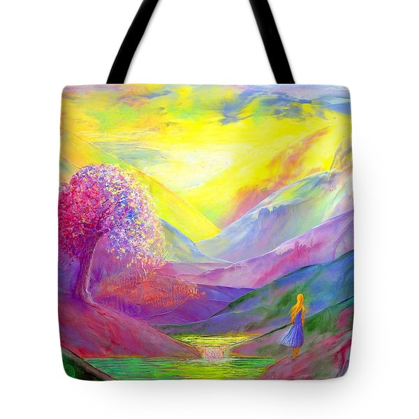 Gold Horizons Tote Bag