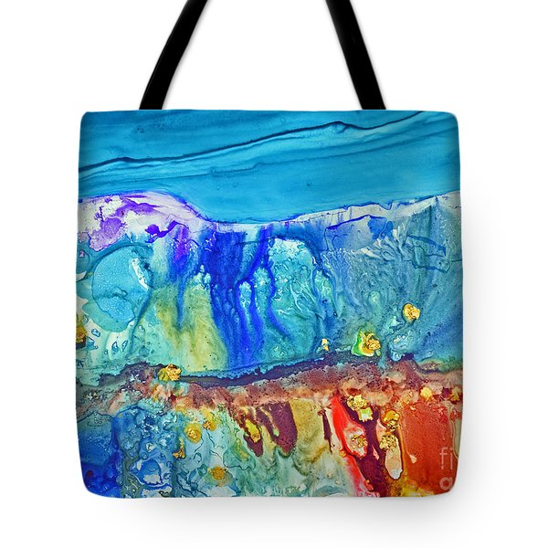 Gold In The Hills Tote Bag by Joan Hartenstein