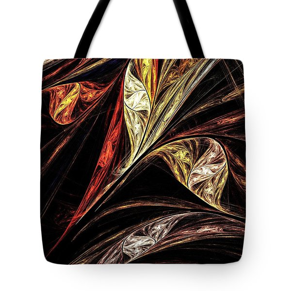 Gold Leaf Tote Bag by Elizabeth McTaggart