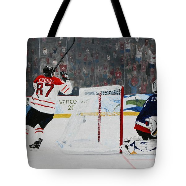 Gold Medal Goal Tote Bag