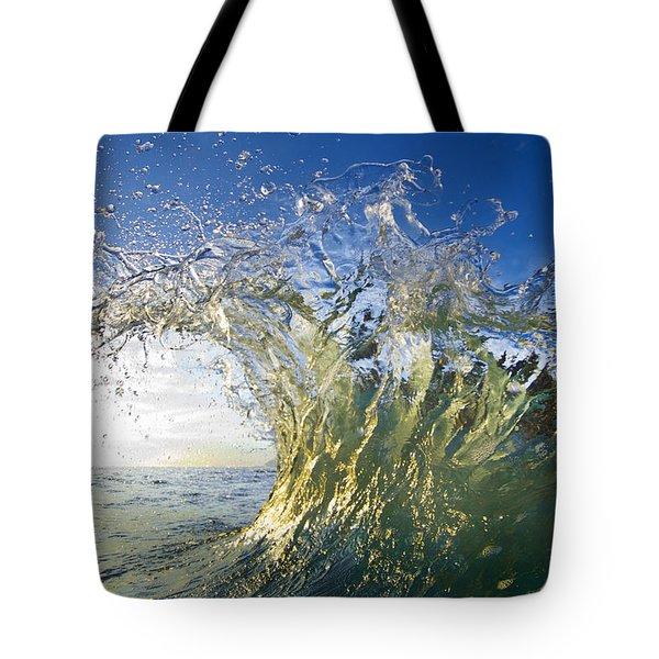 Gold Crown Tote Bag