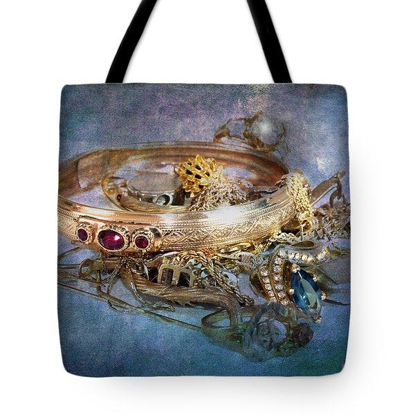 Gold Treasure Tote Bag