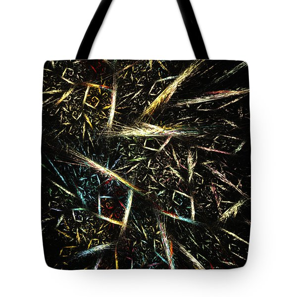 Gold Waste - Abstract Art By Rgiada Tote Bag