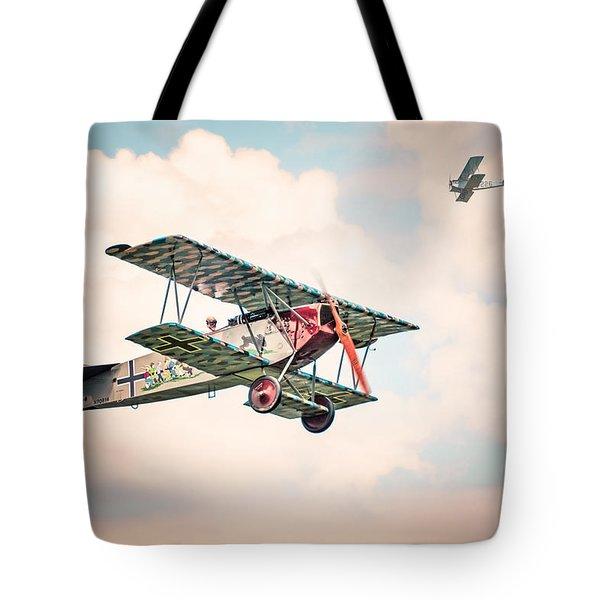 Golden Age Of Aviation - Replica Fokker D Vll - World War I Tote Bag
