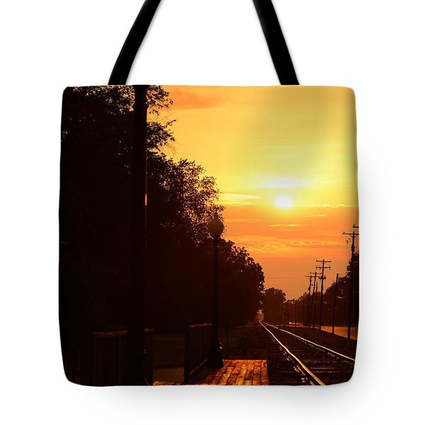 Golden Age Of Rails Tote Bag