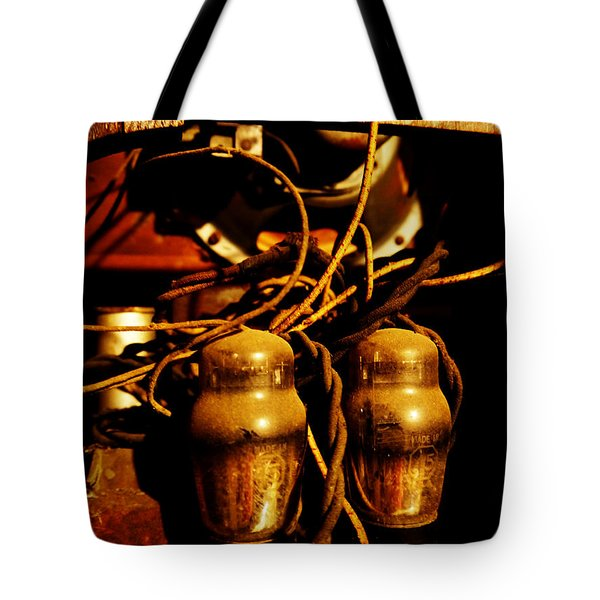 Golden Age Of Wireless Tote Bag by Richard Reeve