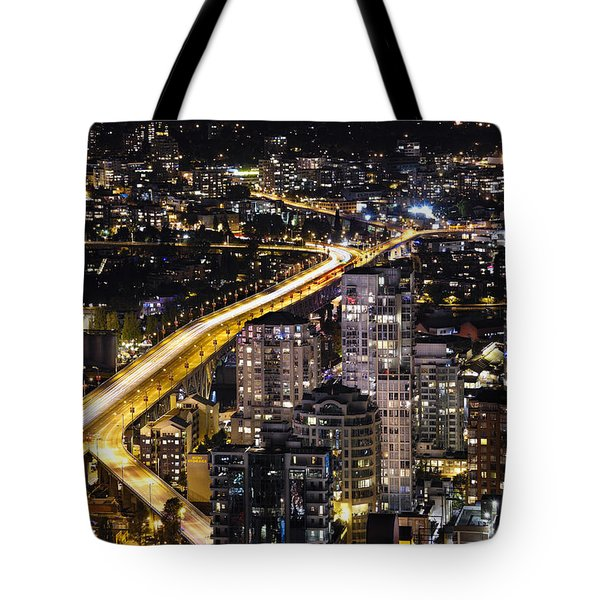 Golden Artery - Mcdxxviii By Amyn Nasser Tote Bag