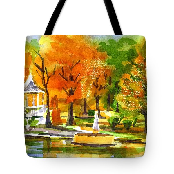 Golden Autumn Day 2 Tote Bag by Kip DeVore
