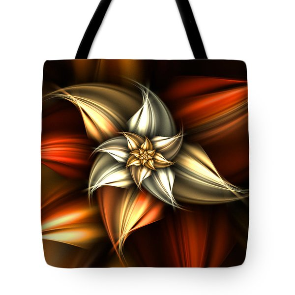 Golden Beauty Tote Bag by Ester  Rogers