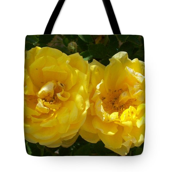 Golden Beauty Tote Bag by Jewel Hengen