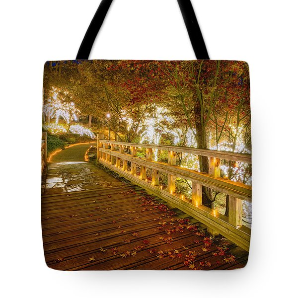 Golden Bridge Tote Bag